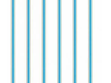 Tapete 358312 Esprit HOME Esprit Kids 5 | Papiertapete Blau Braun Weiß Streifen online kaufen