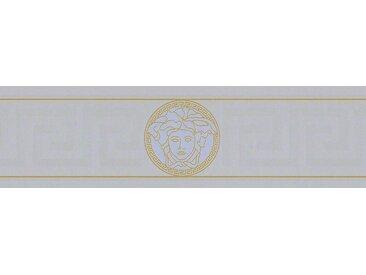 Versace-Tapeten 935225  Versace 1 Vliestapete silber Barocktapete online kaufen