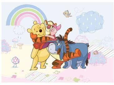 Fototapete no. 1760   Disney Tapete Winnie Puuh Winnie Pooh Tigger Iaah bunt