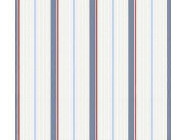 Tapete 357072 Esprit HOME Esprit Kids 5 | Tapete Blau Rot Weiß Streifen online kaufen