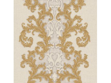 Versace-Tapeten 962324  Versace 2 Vliestapete beige / crème gelb Barocktapete online kaufen