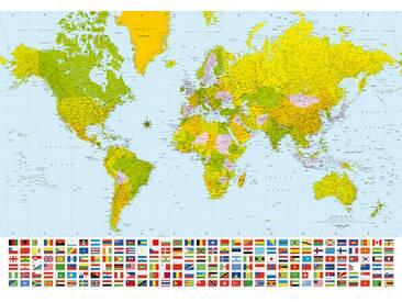 Fototapete W280 World Map