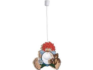 Pumuckl Kinderlampe Lesefieber /Bunt, Holz