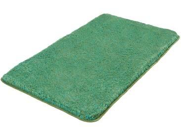 Kleine Wolke Badteppich Relax 60 x 100 cm, Grün Polyester