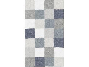 Kleine Wolke Badteppich Caro 70 x 120 cm, Grau Polyacryl