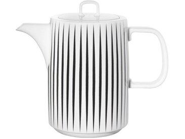 ASA Selection Kaffeekanne Muga 1000 ml /Schwarz / Weiß, Porzellan