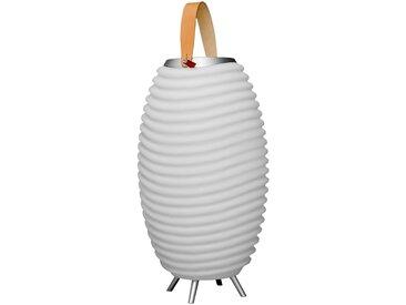 LED-Dekoleuchte Synergy 50S, Weiß Kunststoff 50 cm