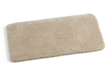 Kleine Wolke Badteppich Relax 85 x 150 cm, Beige Polyacryl