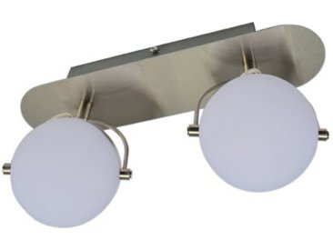 DesignLive LED-Strahler Mümling /Nickel matt, Metall