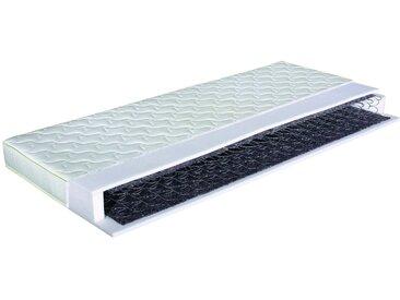 Comfort Lux Federkernmatratze Base, Weiß Stoff 180 x 190 cm