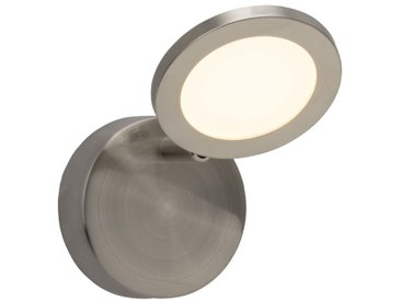 Brilliant LED-Strahler Tulp /Nickel matt, Metall