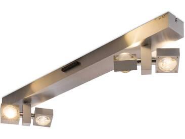 Paul Neuhaus LED-Deckenleuchte Q-Nemo, silber Alu, Eisen, Stahl &