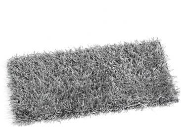 Aquanova Badteppich Kemen 70 x 120 cm, silber Mischgewebe