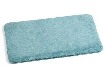 Kleine Wolke Badteppich Relax 70 x 120 cm, Türkis Polyacryl