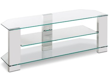 TV Rack Clear /Transparent, Glas