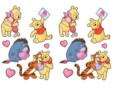 EUROART Sticker 25 x 35 cm Winnie The Pooh I /Gelb, Kunststoff