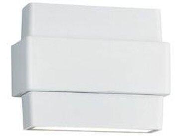Trio LED-Außenwandleuchte Padma /Weiß, Aluminium