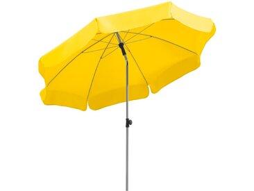 Schneider Schirme Balkonschirm Locarno Ø 200 cm /Gelb, Polyester