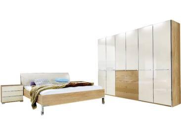 Wiemann Schlafzimmer-Set Shanghai 4tlg., creme Glas