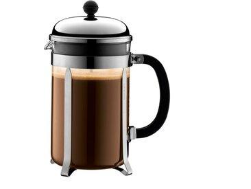 Kaffeebereiter Chambord 1500 ml /Schwarz, L (Large) Edelstahl