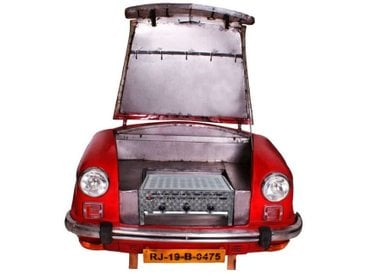 SIT Gasgrill Carbecue 01054-45 /Rot, Metall