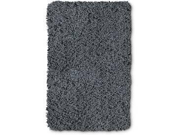 Kleine Wolke Badteppich Trend 80 x 140 cm, Grau Polyester
