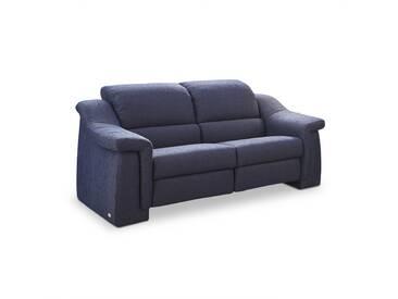 himolla Sofa Straubing, blau Stoff