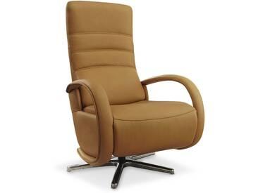 HUKLA Sessel Smart, Gelb Leder