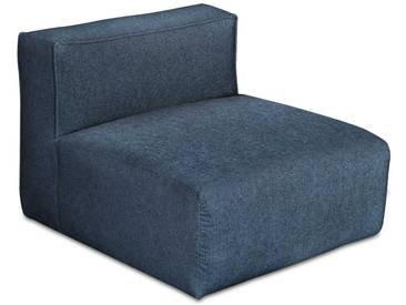 freistil Sessel 175, Schwarz Stoff