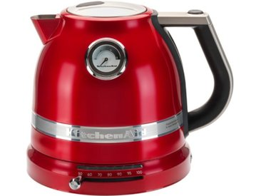 KitchenAid Wasserkocher Artisan /Rot, Edelstahl