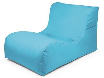 Outbag Sitzsack New Lounge Plus aqua /Aqua, Stoff