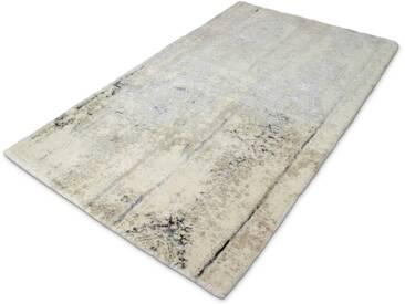Kleine Wolke Badteppich Caracas 70 x 120 cm, Grau Baumwolle