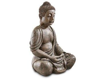 Deko-Buddha Polyresin, 70 cm, Kunststoff