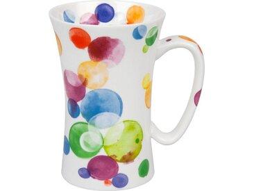 Kaffeebecher Colorful Bubbles 630 ml /Bunt, Porzellan