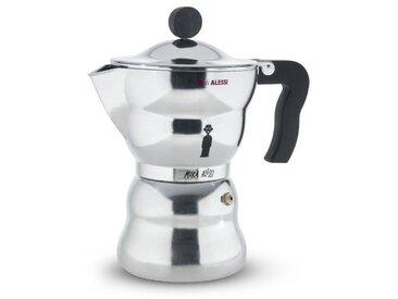A Di Alessi Espressokocher Moka, 300 ml Aluminium