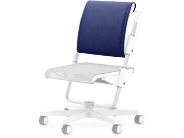 Moll Rückenkissen Scooter, Blau Stoff