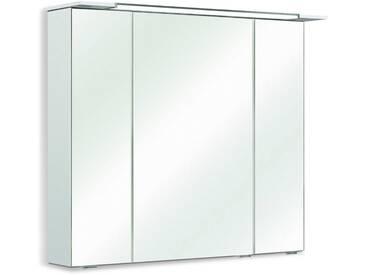 Pelipal Spiegelschrank Licata II, Weiß Kunststoff A++