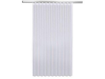 Fertiggardine Marina 175 x 306 cm, Weiß Polyester