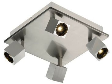 Trio LED-Strahler Cuba /Nickel matt, Metall