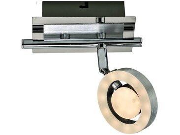 DesignLive LED-Strahler Abens, silber Aluminium A+