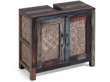 Wolf Möbel Waschbeckenunterschrank Goa /Mango, Holz