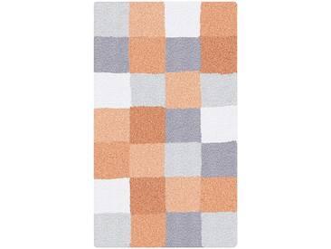 Kleine Wolke Badteppich Caro 85 x 150 cm, Orange Polyacryl