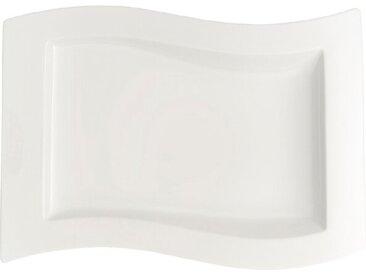 Villeroy & Boch Gourmetteller New Wave 33 x 24 cm /Weiß, Premium