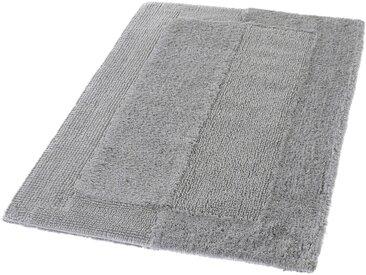 Kleine Wolke Badteppich Havanna 85 x 150 cm, grau Baumwolle