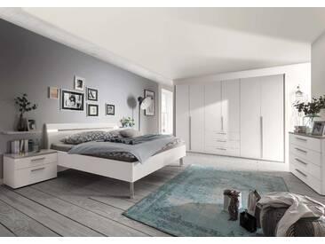 Loddenkemper Schlafzimmer-Set Gloss 4tlg., A+