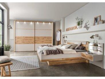 Wiemann Schlafzimmer-Set Toscana 4tlg., Holzoptik