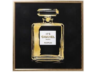 KARE Wandbild 115 x cm Frame Fragance 63944, gold Glas