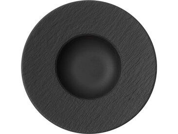 Villeroy & Boch Pastateller Manufacture Rock /Schwarz, Porzellan