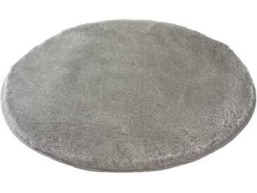 Kleine Wolke Badteppich Relax 80 cm, Grau Polyacryl