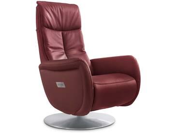 HUKLA Sessel Smart, rot Leder